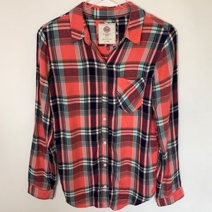 Authentic American Heritage plaid shirt. Med